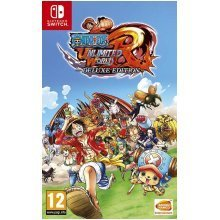 One Piece Unlimited World Red Deluxe Edition Video Game Nintendo Switch