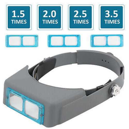 Headband Magnifier Head Magnifier Hands Free Magnifying Glass Optivisor