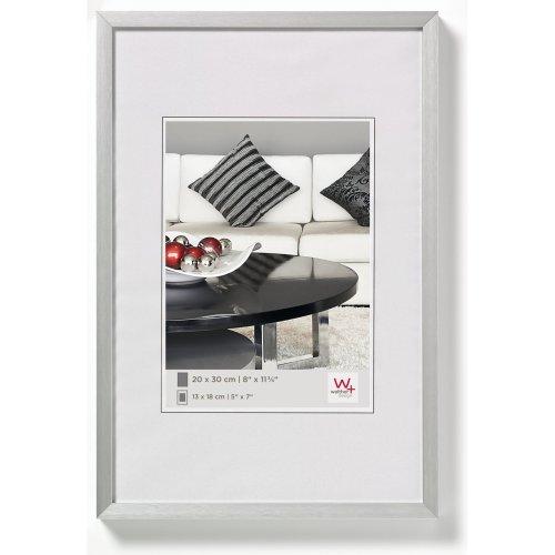 Walther design AJ060S Chair aluminium picture frame, 19.75 x 23.50 inch (50 x 60 cm), silver