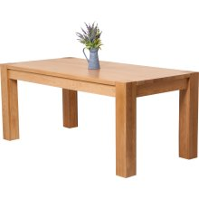 Kuba Chunky Solid Oak 180 cm Dining Table