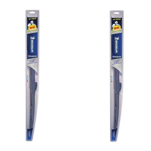 "Michelin  Stealth Hybrid Wiper Blades Pair - 19""/21"" Michelin Stealth New"