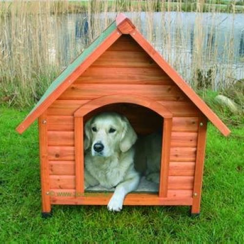 Natura Pitched Roof Dog Kennel