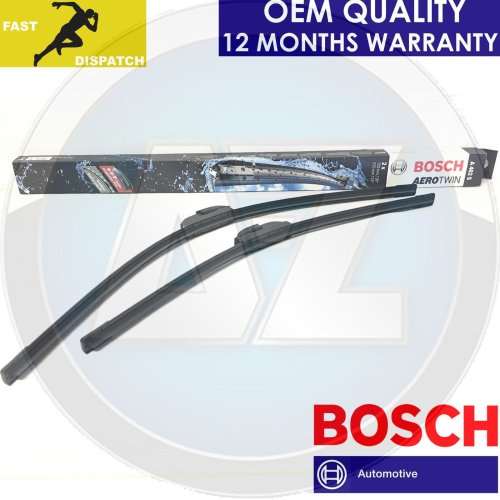 FOR HONDA CIVIC TYPE R FN2 2006-> BOSCH AEROTWIN FRONT WIPER BLADES BLADE KIT