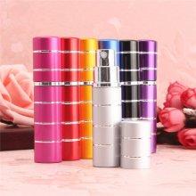 10ml Perfume Atomizer Refillable Spray Bottle Pump Travel