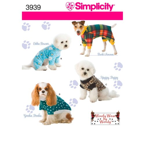 SIMPLICITY DOG CLOTHES_IN THREE SIZES-S,M,L