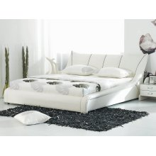 Leather Water Bed - Super King Size - Full Set - 6 ft /180 x 200 cm - NANTES