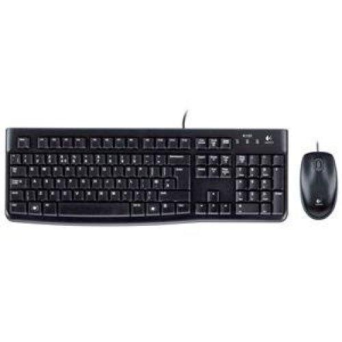 Logitech Desktop MK120, UK USB QWERTY UK English Black keyboard