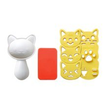 Cat Shape Cutter For DIY Bento or Create Children's Dining