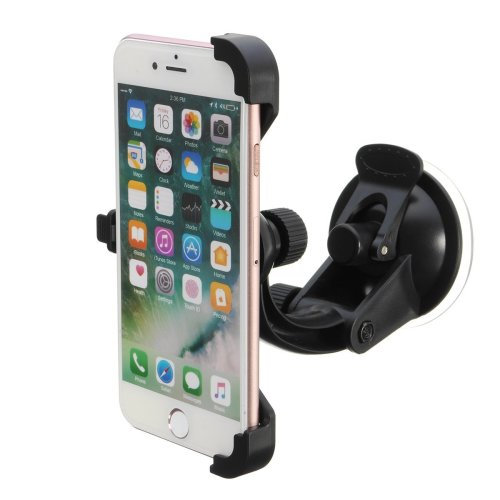 360° Rotating Phone Stand Car Holder Cradle Dash Wind Shield Suction Mount for 4.7 inches Phone