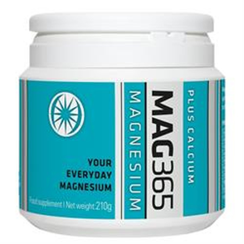 Mag365 Mag365 Plus Calcium 210g Magnesium Supplement