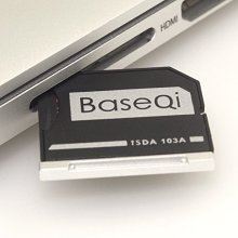 "BASEQI microSD Adapter for MacBook Air 13"" and MacBook Pro 13""/15"" (Non-Retina)"