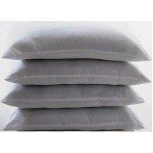 4 Pack Pillow Protectors Standard Size 50x70cm Washable Dust Mite Proof Guard