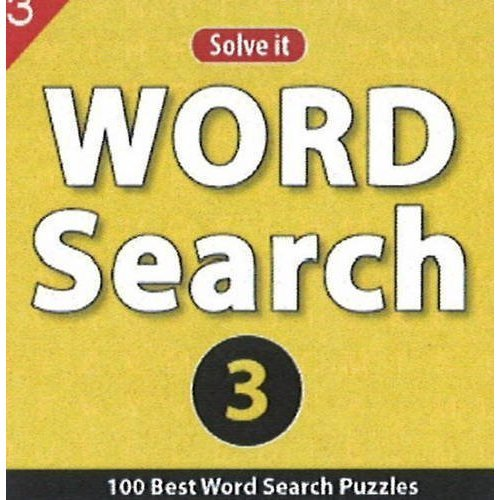 Word Search 3: 100 Best Word Search Puzzles [Jul 23, 2013] Leads Press