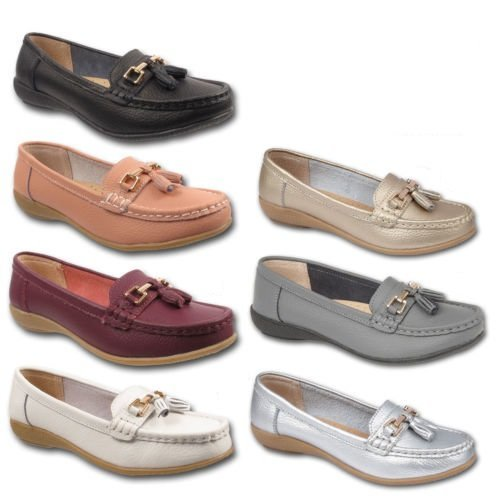 Jo & Joe Nautical Tassel Loafers | Leather Moccasins