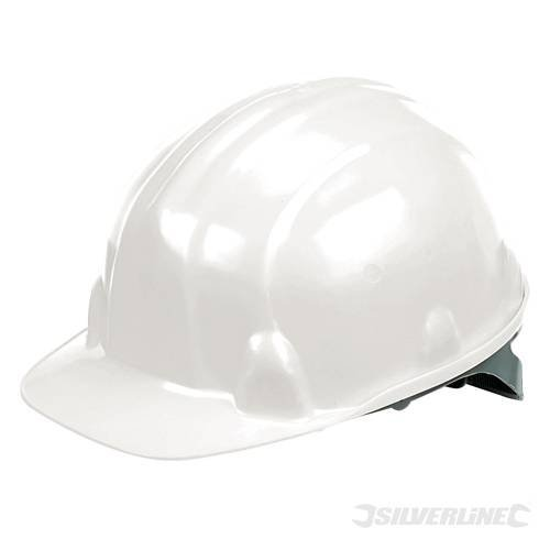 White Lightweight Safety Hard Hat