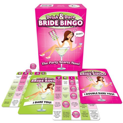 Bride to Be Drink & Dare Bingo