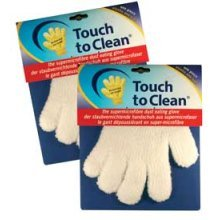 Touch To Clean Pair Of Supermicrofibre Dust Eating Gloves