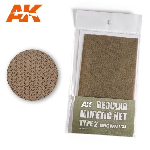 AK8062 - AK Interactive - Camouflage Net Type 2 Brown