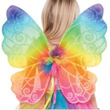 Kids Rainbow Fairy Wings