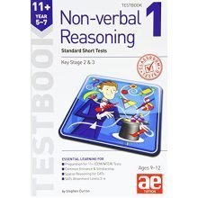11+ Non-Verbal Reasoning Year 5-7 Testbook 1: Multiple Choice Tests