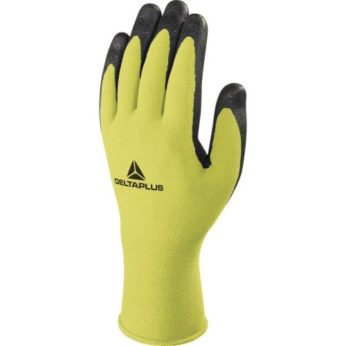 Delta Plus APOLONIT VV734 Polyamide/Spandex Safety Gloves Yellow (Various Sizes)