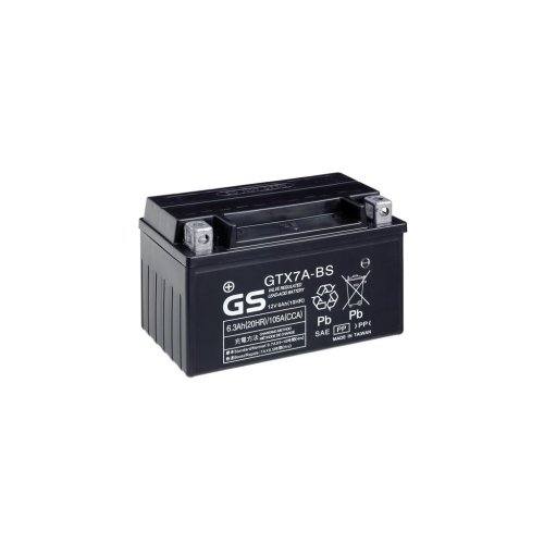 Motorcycle MF VRLA Battery 12V - 6Ah - 105CCA