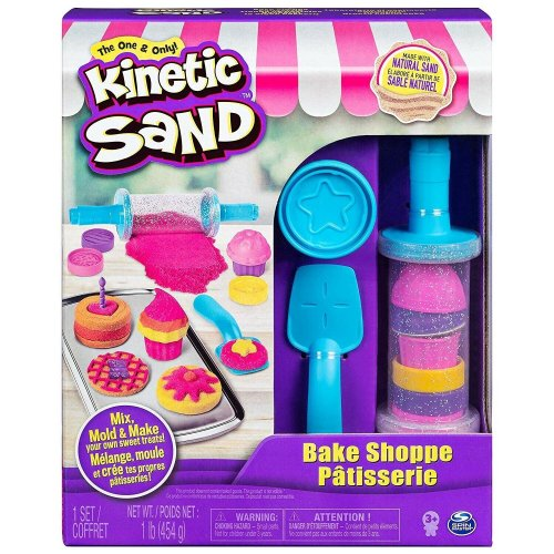 Kinetic Sand Bake Shop Play Set Play Sand Sandcastle Mold Build