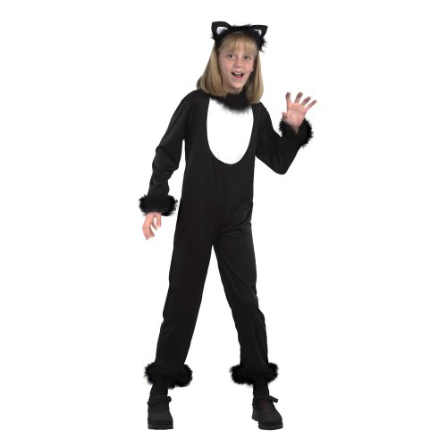 Medium Childrenu0027s Kitty Cat Costume - kitty fancy dress costume cat outfit girls halloween black FANCY DRESS KITTY CAT PUSS KIDS CHILDRENS KIDu0027S  sc 1 st  OnBuy : kitty cat costume  - Germanpascual.Com