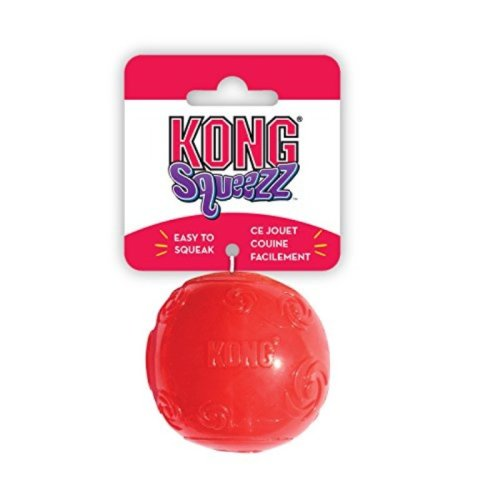 KONG Squeezz Ball Dog Toy, Large, Colors Vary