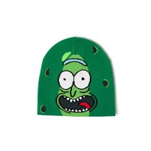 16f45028b67 Compare Items Similar To Bioworld Men s Morty Pickle Rick Face Cuffless  Beanie