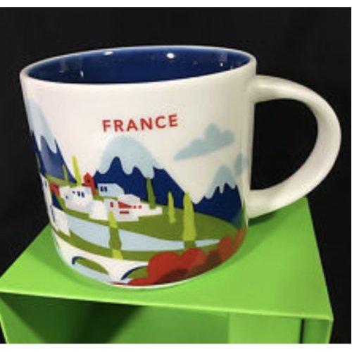 Starbucks You Are Here Mug Collection France