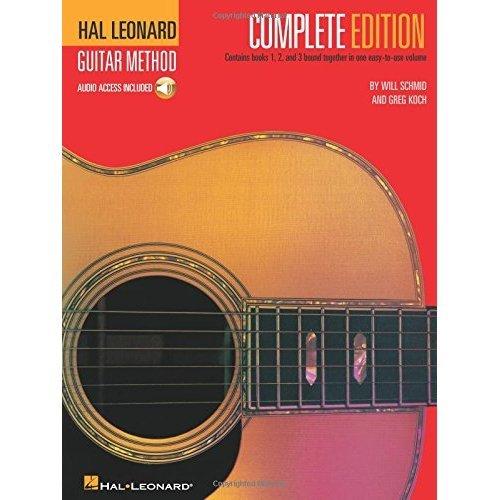 Hal Leonard Guitar Method 1,2 &3 Complete Version: Method 3 (Includes Online Access Code)