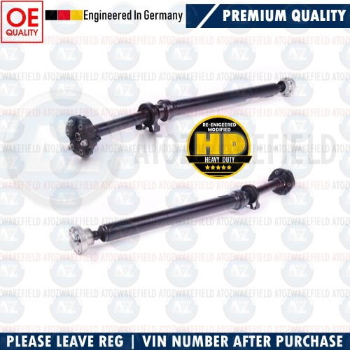 FOR AUDI Q7 3.0 TDI COMPLETE PROPSHAFT COUPLING CENTRE MOUNT BEARING MODIFIED