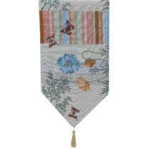 Creative Home Dining Table Runner Table Decor 13x70.8 Inch, Butterfly & Flower