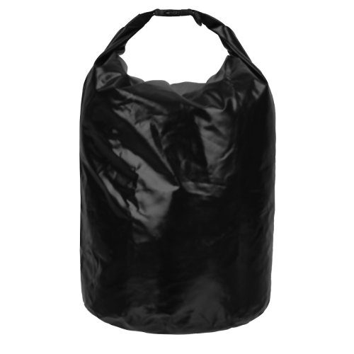 SWISSONA Dry Bag in black, 100% waterproof, sturdy & long-living, 38 litres | 2 Year Satisfaction Guarantee | waterproof bag, storage bag,...