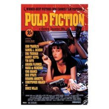 91 x 61cm Pulp Fiction Maxi Poster - Movie New One Sheet Regular Style Uma Bed -  movie pulp fiction poster new one sheet regular style uma bed size