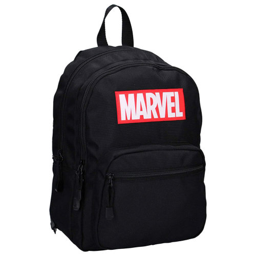 Marvel Logo Retro Black Backpack