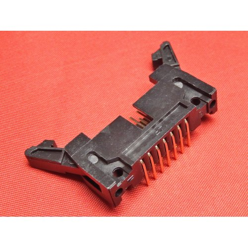Latch Header 14 WAY Right Angle PCB Mounting TI14LHR PACK of 2
