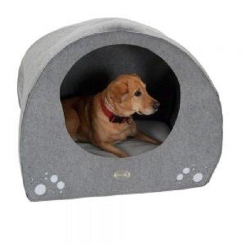 Washable Dog Igloo Cave Bed