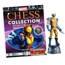 Marvel Chess Figure & Magazine #3 Wolverine White Knight