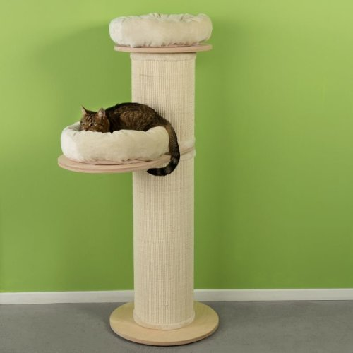 Extra Thick Cat Scratching Post 3 Cuddle Beds