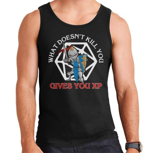 What Doesnt Kill You Gives You XP Dungeons And Dragons Men's Vest