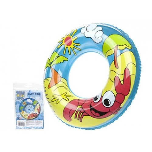 "24"" 7.2g Printed Beach Design Swim Ring - Inflatable Swimming Pool 24 24inch -  inflatable swim ring swimming pool beach 24 24inch children tube tyre"
