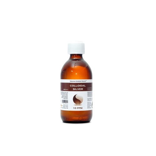 Natures G/Secret  10 ppm Colloidal Silver (Bottle) 300ml