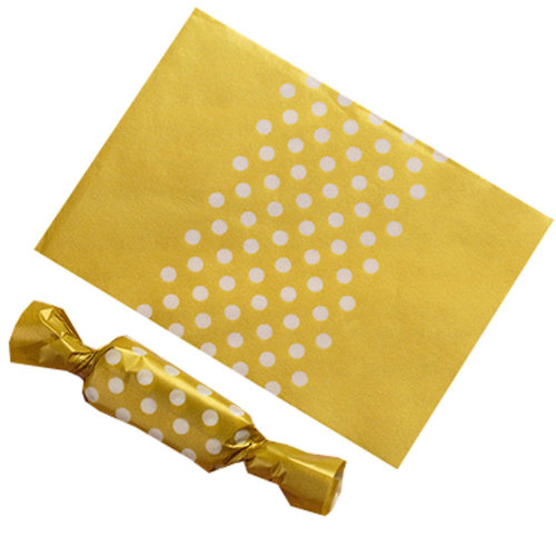 500PCS Candy Wrappers Caramel Wrappers Packaging Bags Twisting Wax Paper 9x12.5cm, a4