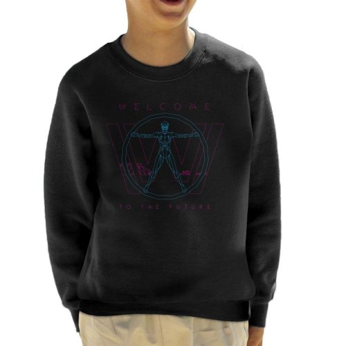 Westworld Welcome To The Future Kid's Sweatshirt