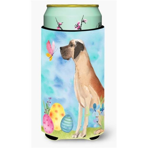 Carolines Treasures BB9628TBC Fawn Natural Great Dane Easter Tall Boy Beverage Insulator Hugger