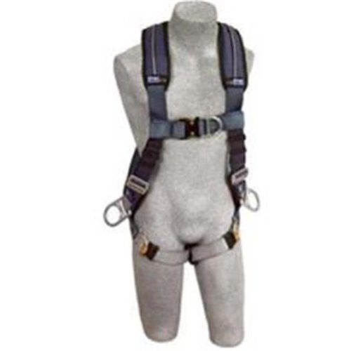 Exofit Xp Vest Style Position-Climb Harness, Front, Back And Side D-Rings, Extra Large