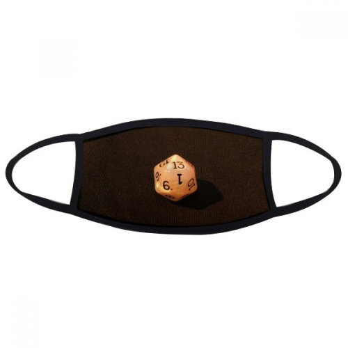 White Gambling Dice Photo Mouth Face Anti-dust Mask Anti Cold Warm Washable Cotton Gift