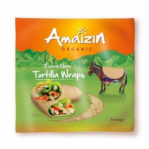 Amaizin  Tortilla Wraps - Extra Fibre 240g
